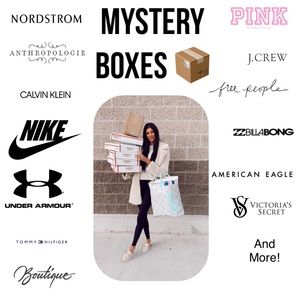 Mystery Reseller Boxes! 10 items per box!